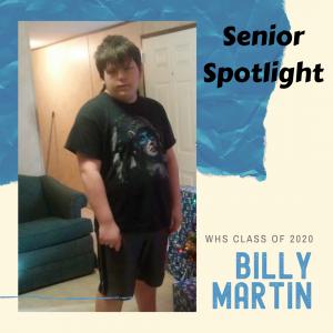 Senior Spotlight Billy Martin