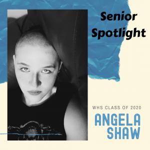 Senior Spotlight Angela Shaw
