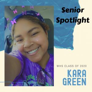 Senior Spotlight Kara Green