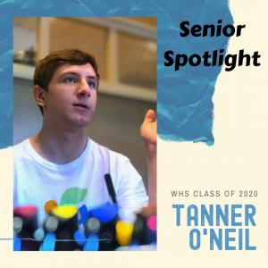 Senior Spotlight Tanner O'Neil