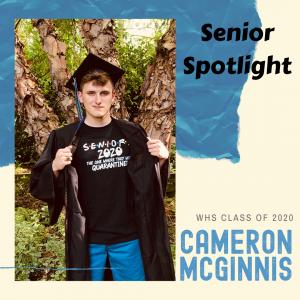 Senior Spotlight Cameron McGinnis