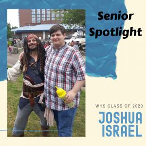 Senior Spotlight Joshua Israel