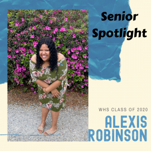 Senior Spotlight Alexis Robinson