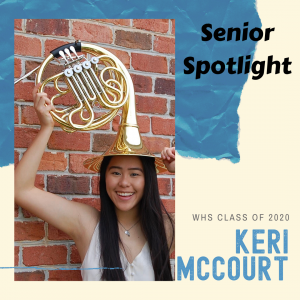 Senior Spotlight Keri McCourt