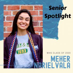 Senior Spotlight Meher Narielvala