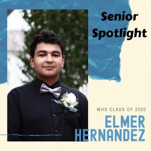 Senior Spotlight Elmer Hernandez