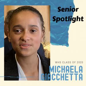 Senior Spotlight Michaela Giacchtta