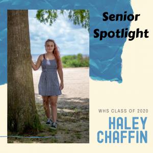Senior Spotlight Haley Chaffin