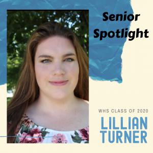 Senior Spotlight Lillian Turner