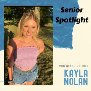 Senior Spotlight Kayla Nolan