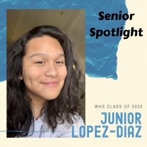 Senior Spotlight Junior Lopez-Diaz