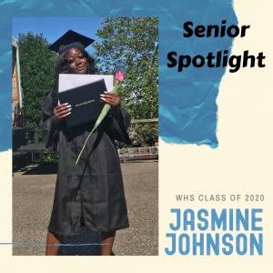 Senior Spotlight Jasmine Johnson