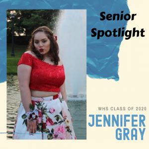 Senior Spotlight Jennifer Gray