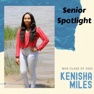 Senior Spotlight Kenisha Miles