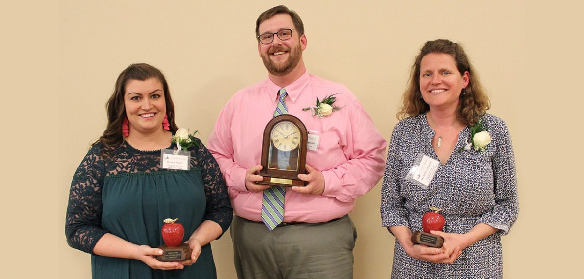 2018 WJCC level teachers of the year