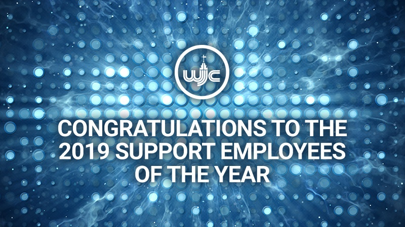 2019 Support Employees of the Year