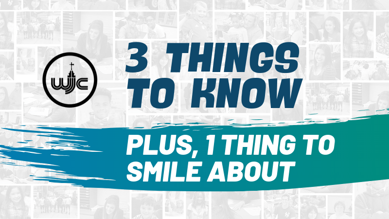3 things to know about plus, 1 thing to smile about