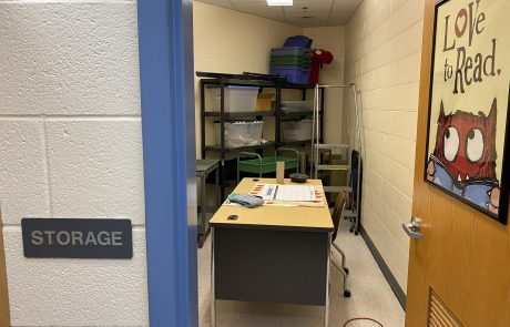 Storage closets are converted to closest and classrooms at several schools