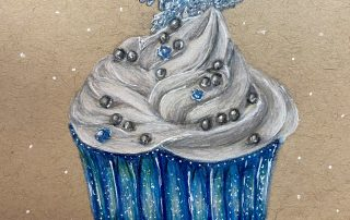 Winter Cupcake – Faith Stumpf, Berkeley Middle School