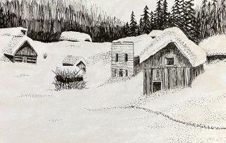 Winter Landscape – Natalia Los, Toano Middle School