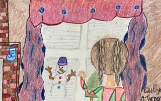 Winter Look Through – Caitlyn Turner, Matoaka Elementary School