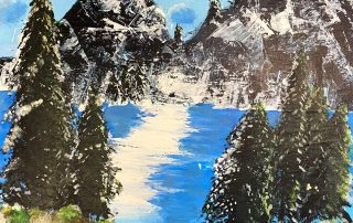Winter Mountain Lake – Kiya Royds, Lois S Hornsby Middle School