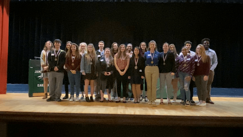 2020 High School Science Fair Winners