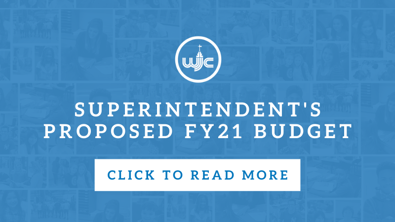 Superintendent's Proposed FY21 Budget