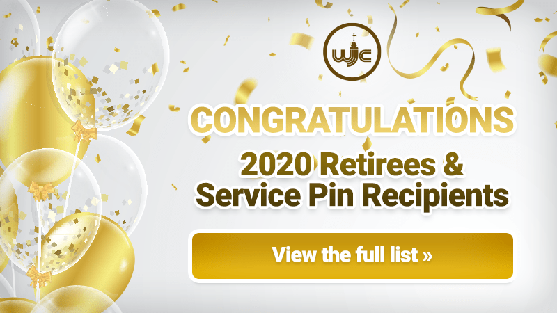 Retirement & Service Pin 2020