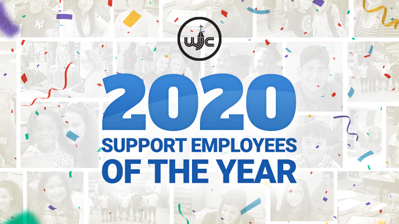Congratulations to the 2020 Support Employees of the Year