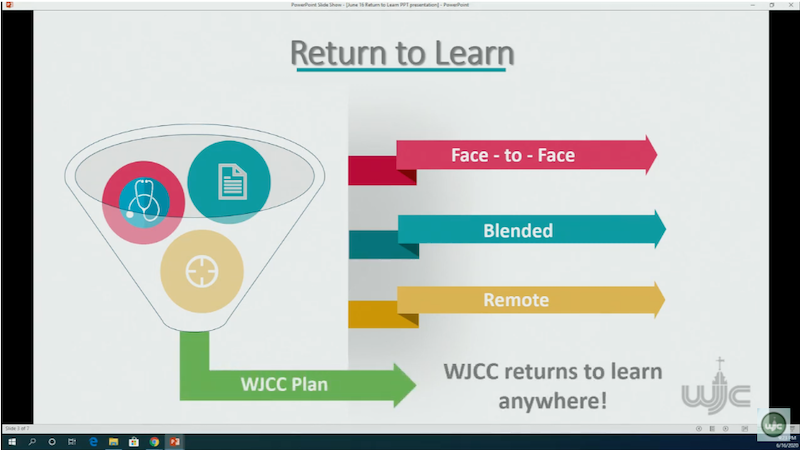 Return to Learn Presentation