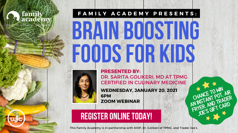 Family Academy: Brain Boosting Foods for Kids