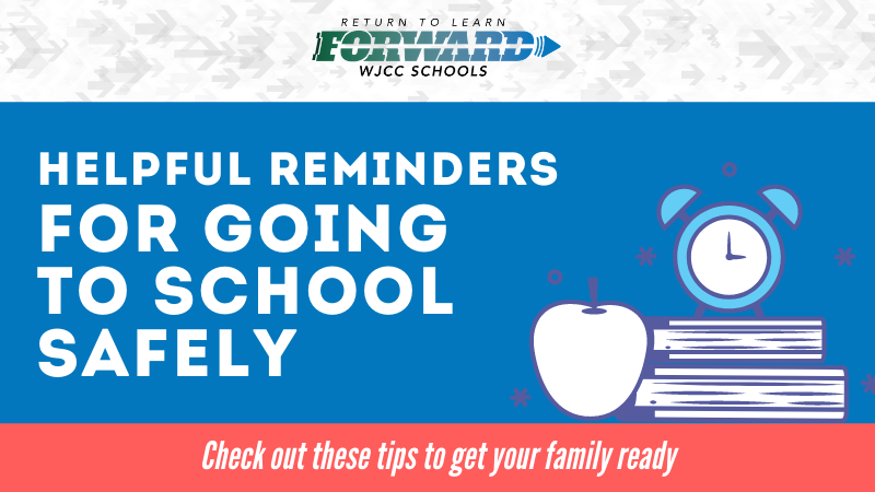 Helpful Reminders for Going to School Safely