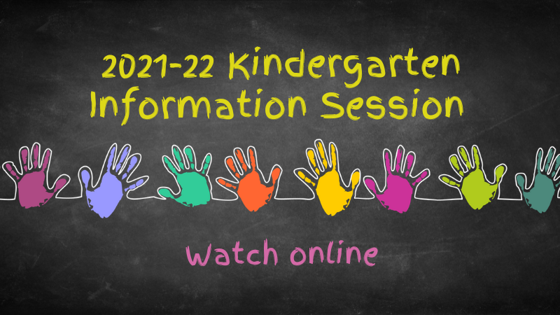 Watch Virtual Kindergarten Information Session